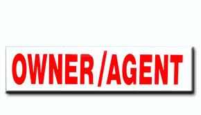Owner/Agent Insert