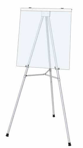 Heavy Duty Display Easel with Flip Chart
