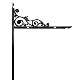 Decorative L  Stake Bellflower 42""