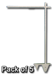 "52"" 2pc Colonial Post (White)"