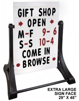 Swinger Extra Large Sidewalk Sign