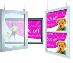 """8.5"""" x 11"""" Hanging Sign Frame Kit"""