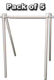18 x 24 PVC A Frame Kit (White)