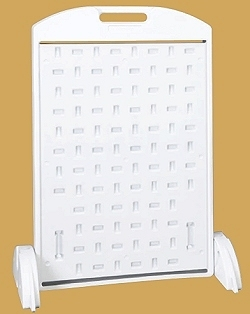 24x36 Weather-Strong  Sidewalk A Frame (White)