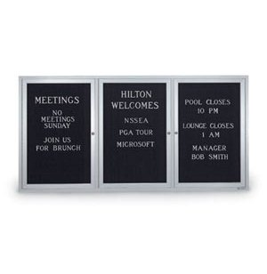 Enclosed Changeable Letterboard 72