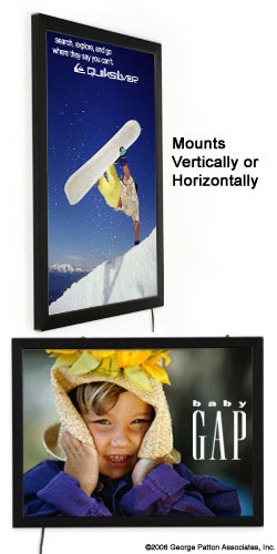 18x24 Matte Black Ultra Thin  Light Box