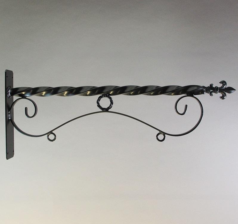 """24"""" Steel Reverse Scroll Bracket"""