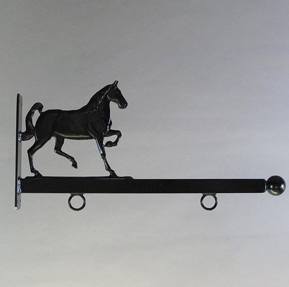 "24"" Aluminum Designer Horse Sign Bracket"