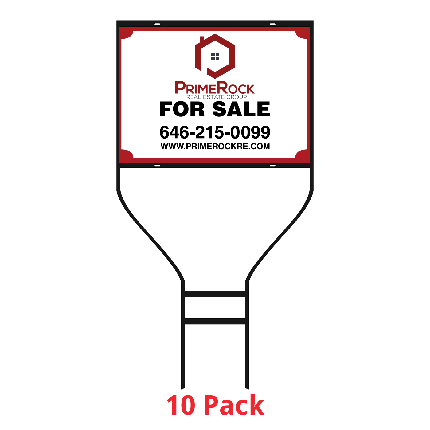 18x24 Banjo Real Estate Frame 10 Pack