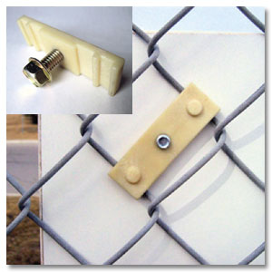 Nylon Chain Link Fence Mounting Bracket