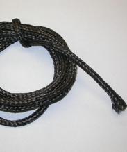 "3/8"" Black Poly Banner Rope"