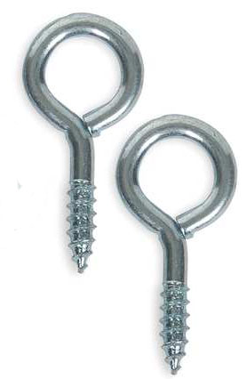 Screw Eye Hooks