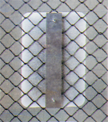 """Fence Sign Support Brackets- 12""""(Chain Link)"""