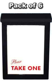 Ultimate Brochure Box (Black)