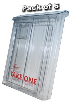 Ultimate Brochure Box (Clear)