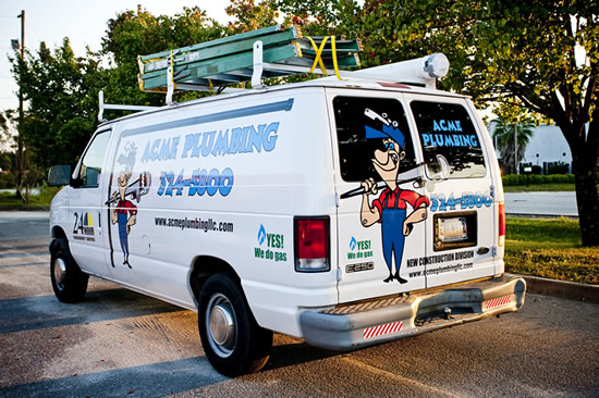 Vinyl Graphics and Lettering for Vans