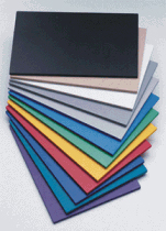 PVC Plastic Sign Boards Come In Many Different Colors