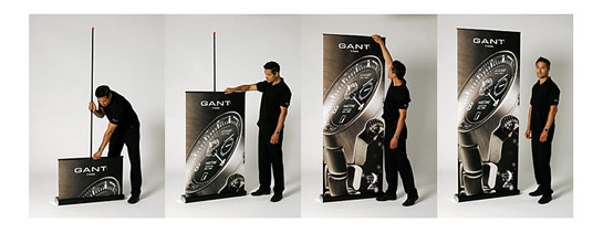 Setting Up Retractable Banner Stands Is Easy!