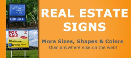 Real Estate Signs Realtor Sign For Sale Sign