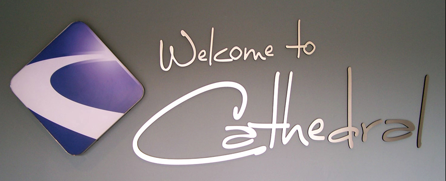 Welcome to Cathedral Sign