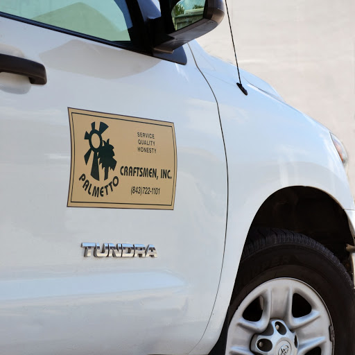 An example of vehicle with a magnetic sign