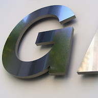 Example of metal letters