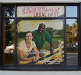 Lowcountry Farm Local Reusable Window Perf