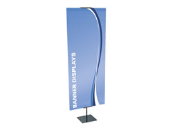 Example of Adjustable Banner Stand