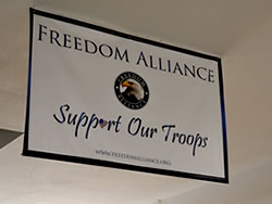 Example of Indoor Banner