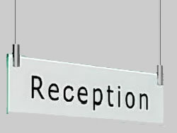 Example of an Acrylic Hanging Sign