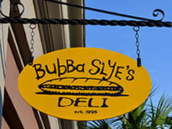 Example of a Dura-Wood Hanging Sign