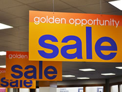 Example of Indoor Hanging Sign