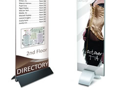 Example of Free Standing Sign Bases