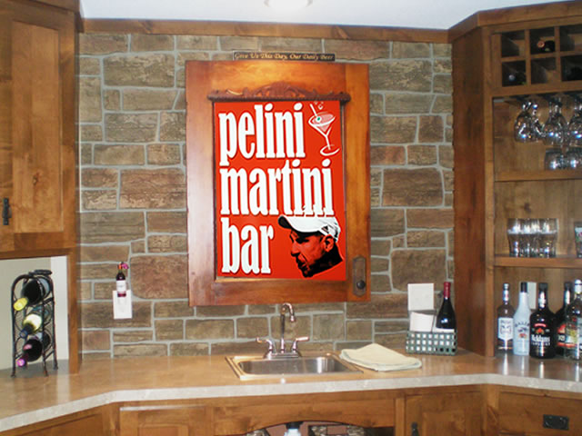 Example of Customized Bar Sign