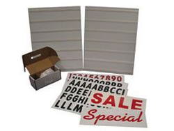 Example of a Sidewalk Sandwich Board Sign Kit