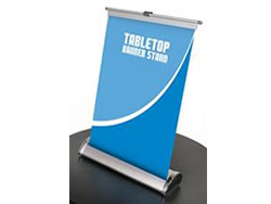 Example of Table Top Retractable Banner Stand