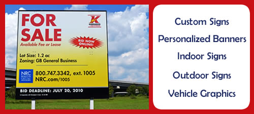 Example of A Custom Business Sign