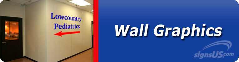 Example of wall graphics