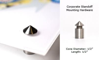 Cones - Silver - 1/2