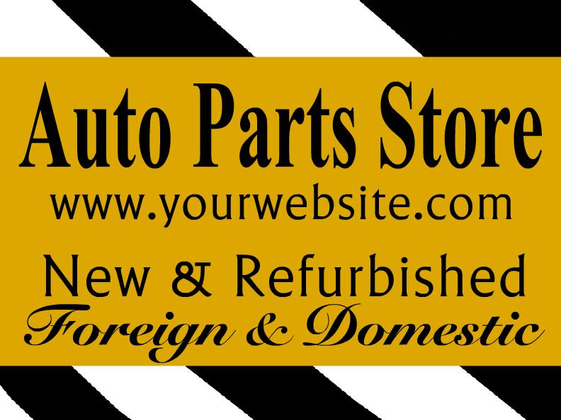 auto parts templates