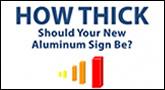 Aluminum Thicknesses