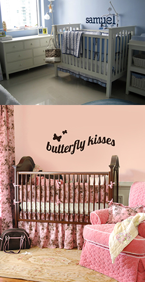 Personalized Vinyl Lettering and Graphics for Your Nursery